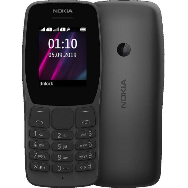 Oferta de Celular Nokia 110 preto nk006 por R$169