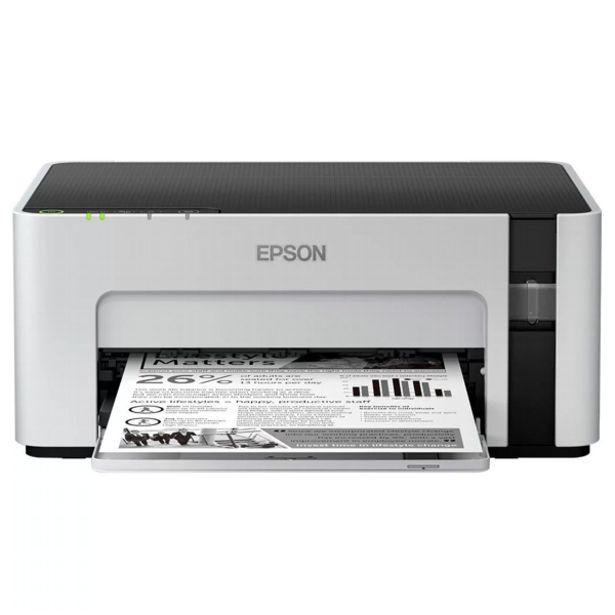 Oferta de Impressora ecotank m1120 mono tanque de tinta wireless por R$1234,05