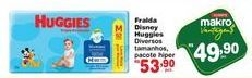 Oferta de Fralda Disney Huggies por R$49,9