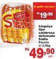 Oferta de Linguiça calabresa defumada Sadia por R$49,9