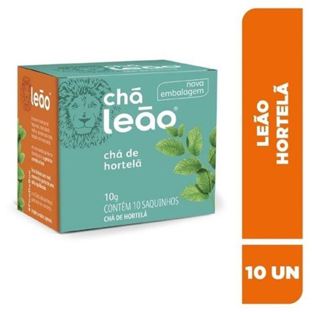 Oferta de Chá Leão Hortelã Sachê 10Un por R$3,49
