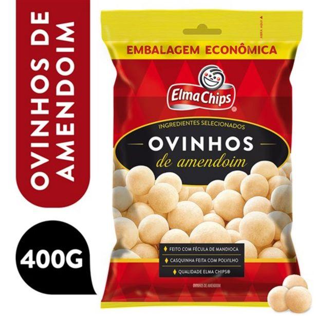 Oferta de Amendoim Elma Chips Ovinhos 400G por R$12,99