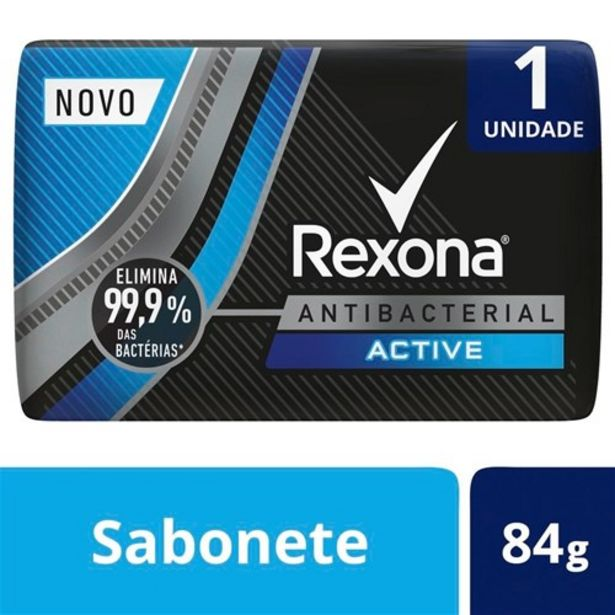 Oferta de Sabonete Rexona Men Active 84G por R$1,89