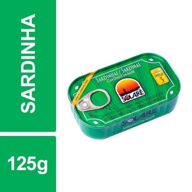 Oferta de Sardinha em Óleo Solare Embalagem 125G por R$4,29