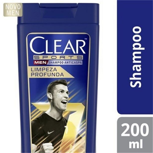 Oferta de Shampoo Anticaspa Clear Sports Men Limpeza Profunda 200M por R$17,29