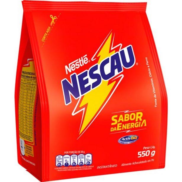 Oferta de Achocolatado Nescau 550G por R$7,95