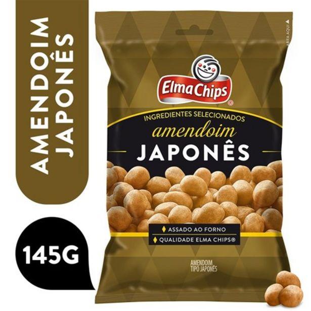 Oferta de Amendoim Elma Chips Japonês 145G por R$6,69