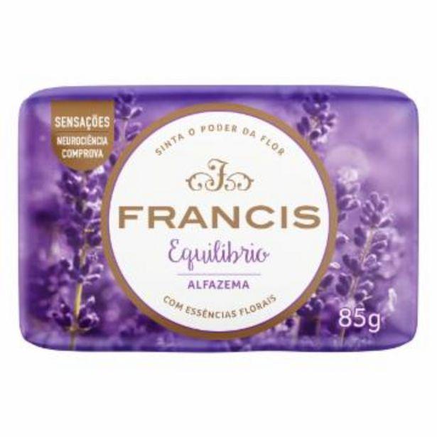 Oferta de Sabonete Francis Suave Alfazema 85G por R$1,59