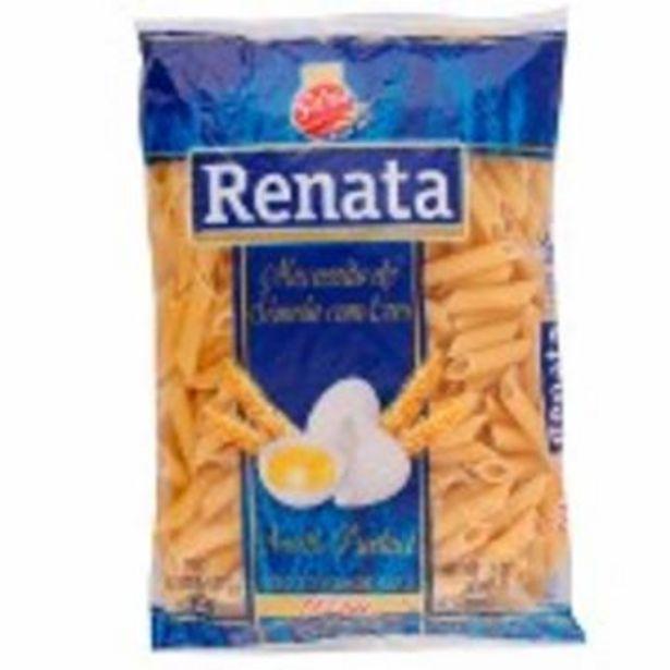 Oferta de Mac Renata C/ovos Pena 500G por R$3,39
