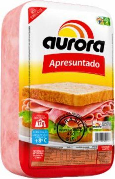 Oferta de Apresuntado Aurora Fatiado Kg por R$17,9