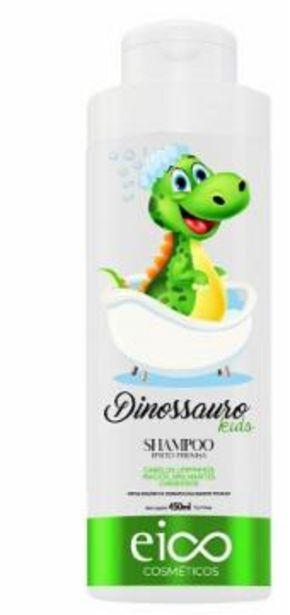Oferta de Shampoo Eico Infantil Dinoussaro 450Ml por R$15,89