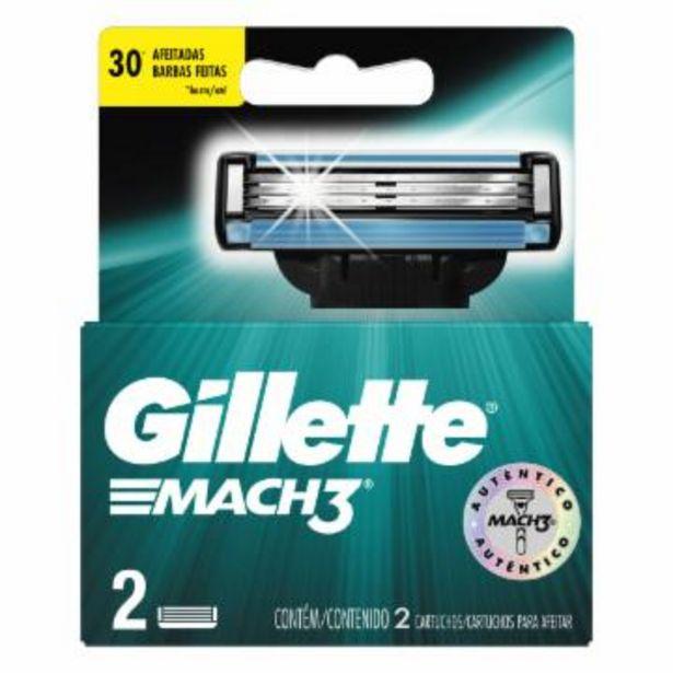 Oferta de Carga Para Aparelho Gillette Mach 3 C/2 por R$15,95