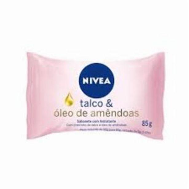 Oferta de Sabonete Nivea Talco/amendoas 85G por R$2,19