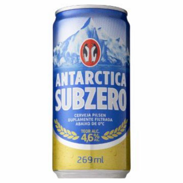 Oferta de Cerv Antarctica Sub Zero Pil Lata 269Ml por R$1,99