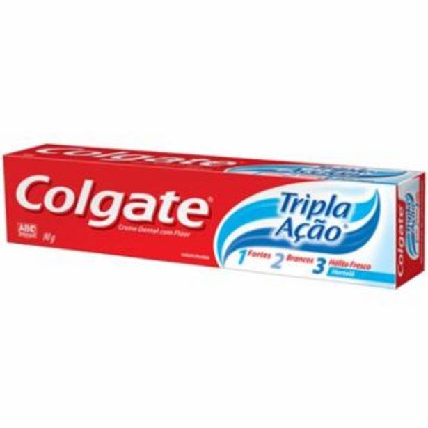 Oferta de Cd Colgate T Acao Hortela 90G por R$3,85