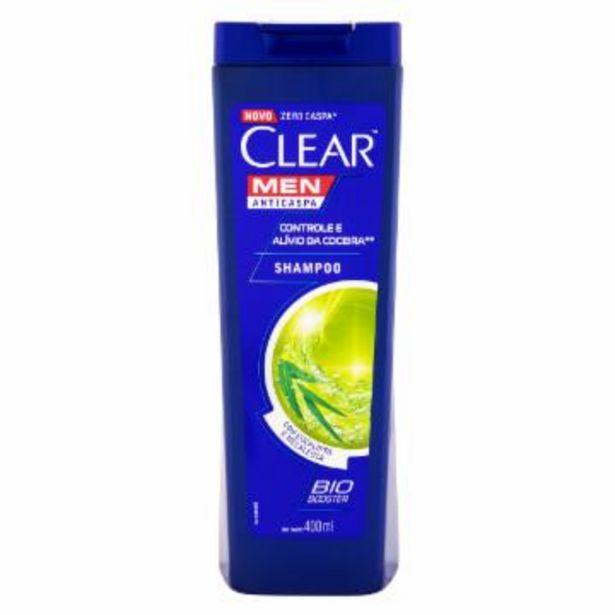 Oferta de Sh Clear Men Alivio Coceira 400Ml por R$21,99