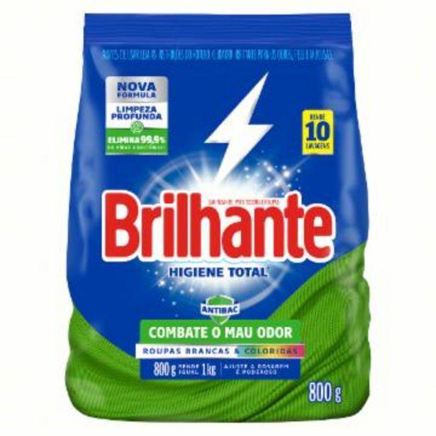 Oferta de Det Po Brilhante Antibac 800G por R$7,99