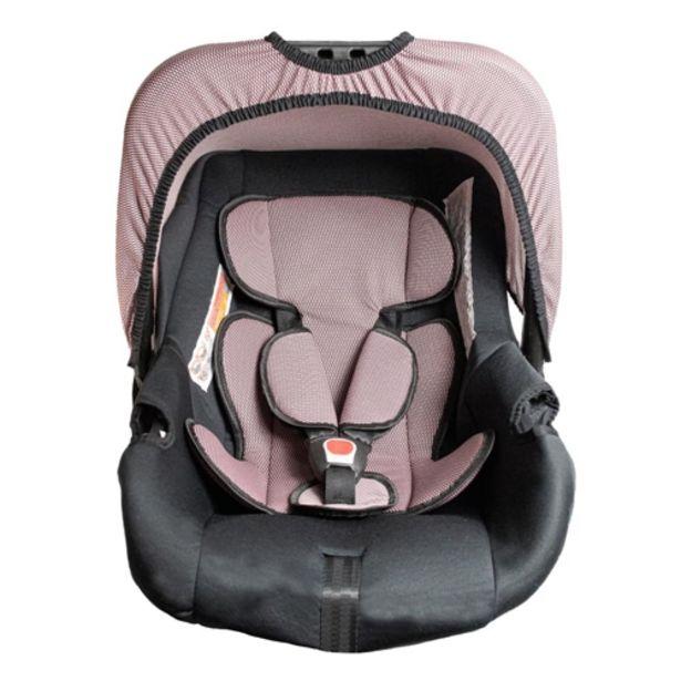 Oferta de Bebê Conforto Styll Baby G0+ 0 a 12 Meses Até 13kg - Preto/Rosa Baltik por R$206,01