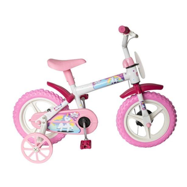 Oferta de Bicicleta Infantil Aro 12 Styll Baby Magic Rainbow -... por R$199,71