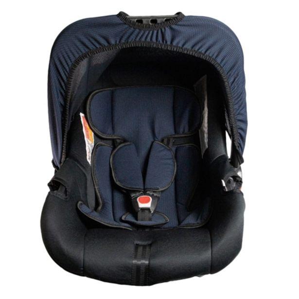 Oferta de Bebê Conforto Styll Baby G0+ 0 a 12 Meses Até 13kg - Preto/Azul Baltik por R$206,01