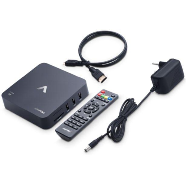 Oferta de Conversor Smart TV Box Aquário STV2000 4K Android 7.1 Nougat Preto - Bivolt por R$259,35