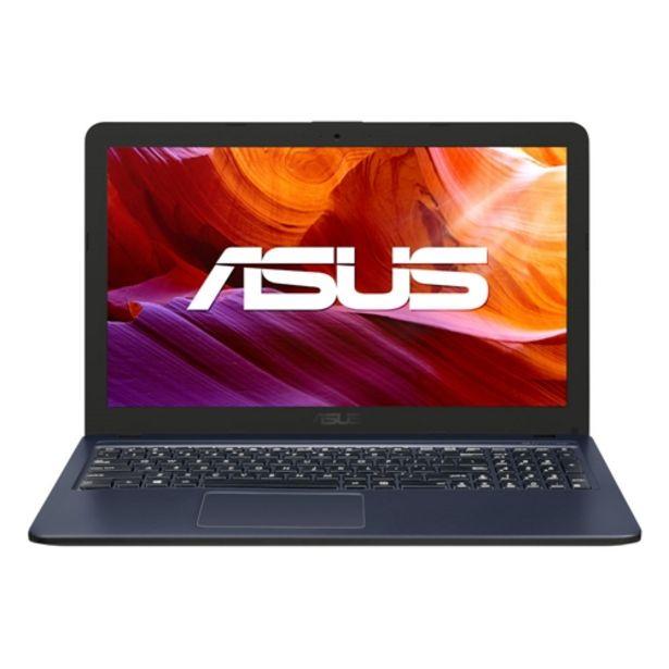 "Oferta de Notebook ASUS VivoBook X543UA/GQ3430T Intel Core i3 256GB 4GB RAM 15,6"" HD Windows 10 Home - Cinza Escuro por R$2899,75"