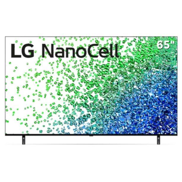 "Oferta de Smart TV 4K 65"" NanoCell UHD LG 65NANO80SPA webOS 6.... por R$5799,59"