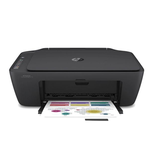 Oferta de Impressora Multifuncional HP DeskJet Ink Advantage 2774 Wifi Bluetooth USB Preto - Bivolt por R$379,87