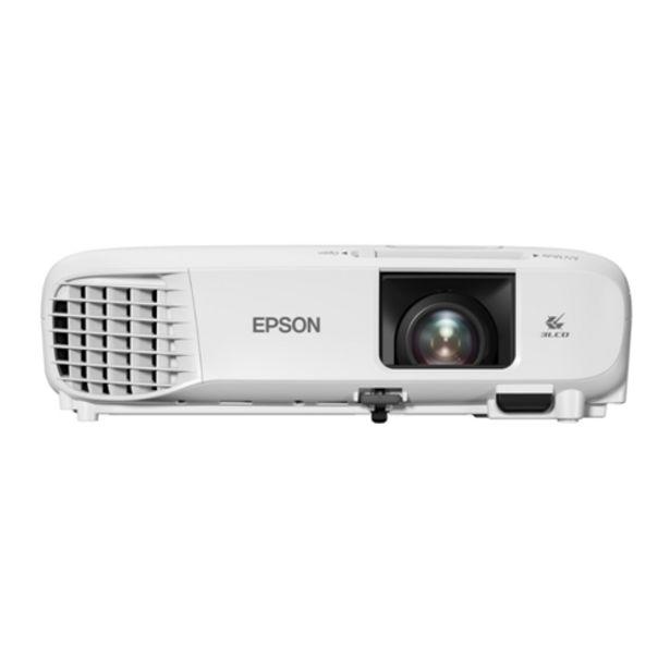 Oferta de Projetor XGA EPSON E20 3400 Lumens  XGA 1024x786 Biv... por R$3999,15