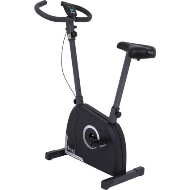 Oferta de Bicicleta Ergométrica Dream Fitness EX 500 Monitor 5 Funções com Regulador de Intensidade - Preto/Cinza por R$459,81