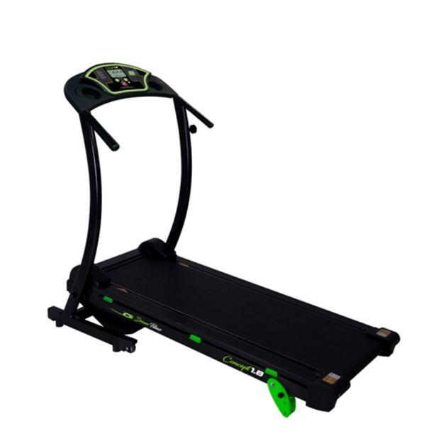 Oferta de Esteira Eletrônica Dream Fitness Concept 1.8 Monitor... por R$1799,01