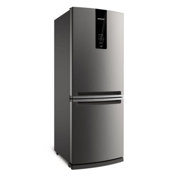 Oferta de Geladeira Brastemp BRE57AK 443 Litros Inverse 2 Portas Frost Free Evox por R$3999,15