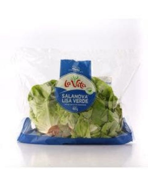 Oferta de Alface La Vita Salanova Lisa Verde 100g por R$2,99