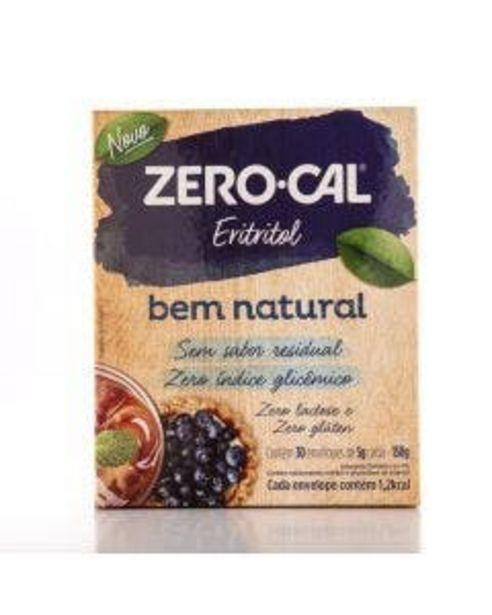 Oferta de Adoçante Zero Cal Bem Natural Eritritol com 30 Envelopes 5 g por R$34,94