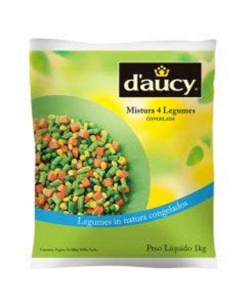 Oferta de Mix Daucy 4 Legumes 1kg por R$17,29