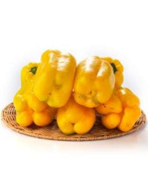 Oferta de Pimentão Amarelo 1 Unidade 280g por R$8,37