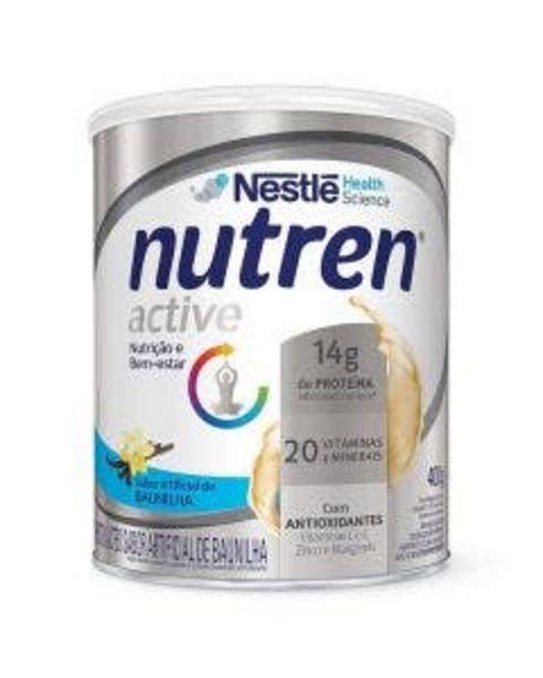 Oferta de Composto Lácteo Nutren Active Baunilha 400g por R$49,99