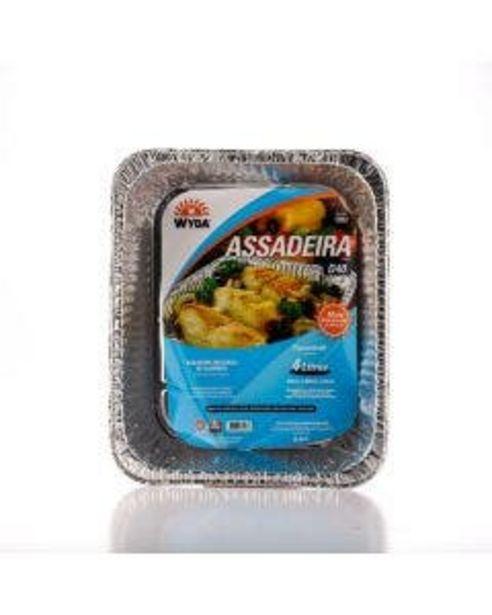 Oferta de Assadeira Wyda Alumínio Moldada 4l por R$14,69