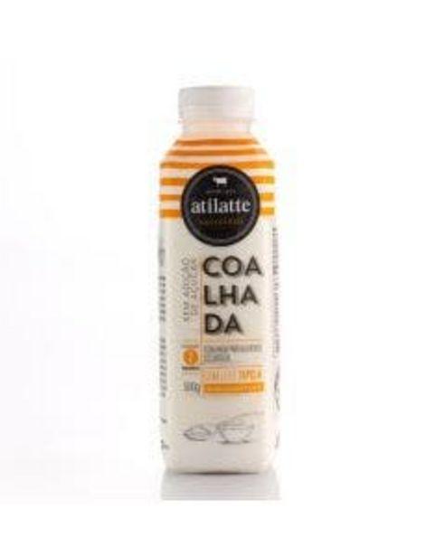 Oferta de Coalhada Ati Latte Desnatado 500g por R$8,49