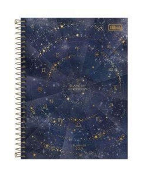 Oferta de Agenda Tilibra Espiral Planner Magic por R$36,99