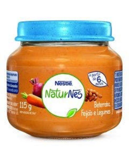 Oferta de Alimento Infantil Nestlé Etapa 2 Caldo de Feijão Legumes e Beterraba 115g por R$5,49