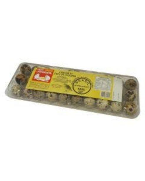Oferta de Ovos de Codorna Jovanil Caixa com 30Unidades por R$5,99
