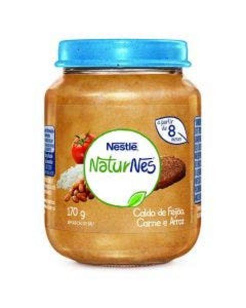Oferta de Alimento Infantil Nestlé Etapa 3 Caldo de Feijão, Arroz e Carne 170g por R$7,99