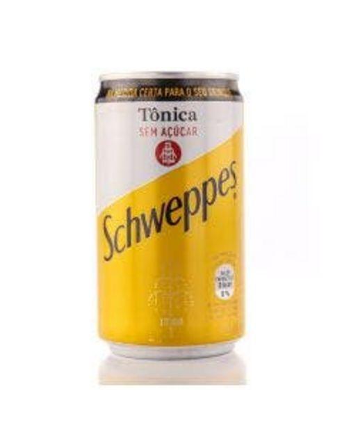 Oferta de Água Tônica Schweppes sem Açúcar 220ml por R$2,29