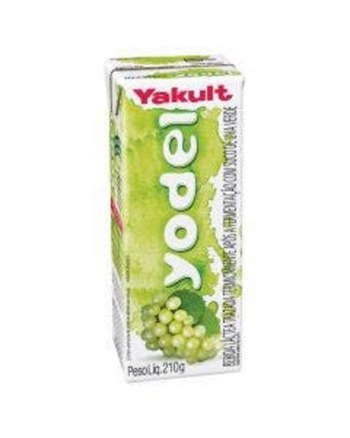 Oferta de Bebida Láctea Yodel com Suco Uva Verde 210ml por R$3,39