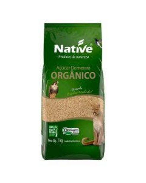 Oferta de Açúcar Native Demerara Orgânico 1kg por R$6,39