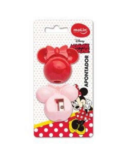 Oferta de Apontador Molin Face Minnie 2Unidades por R$13,99