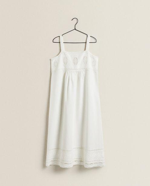 Oferta de Vestido De Linho Com Algodão por R$559,9