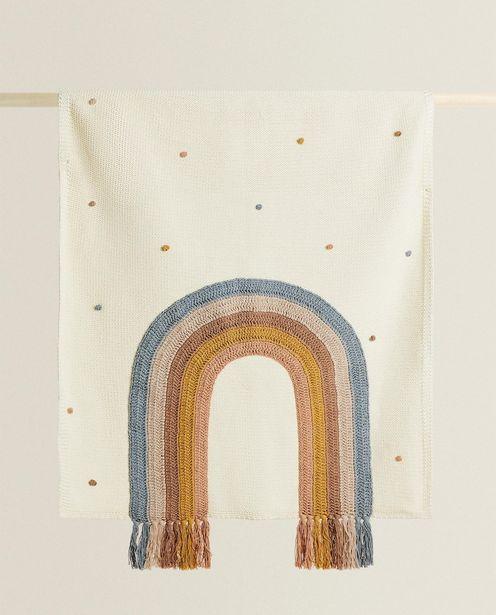 Oferta de Manta Arco-Íris Franjas por R$429,9