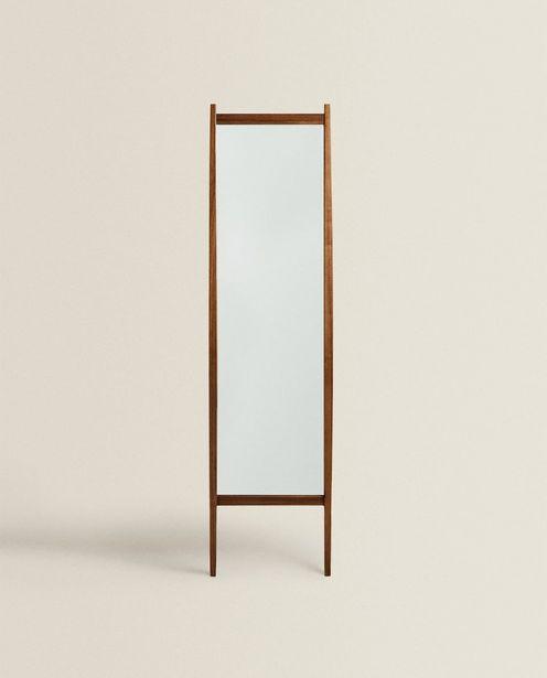 Oferta de Espelho De Pé Retangular por R$699,9